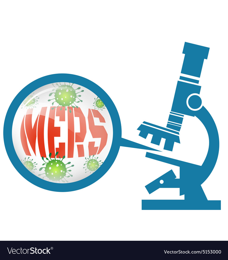 Microscope with mers virus vector