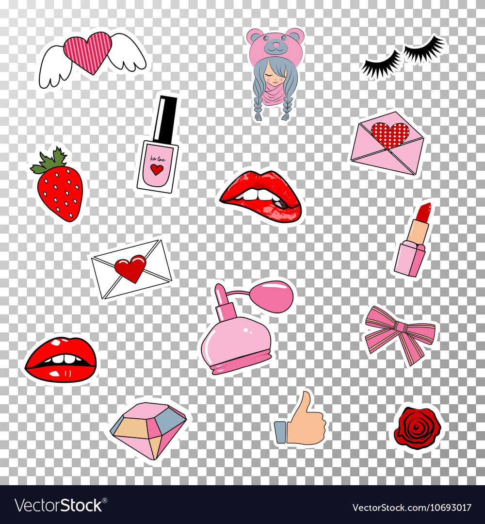 Stickers7 vector