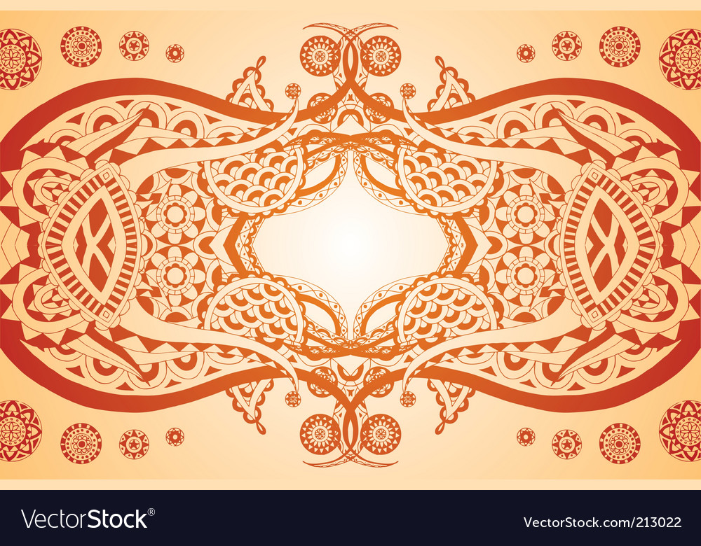 Elegant symmetry vector