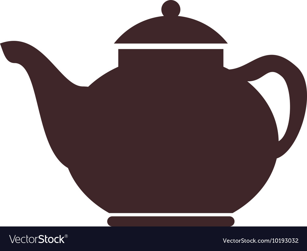 Teapot london uk icon graphic vector
