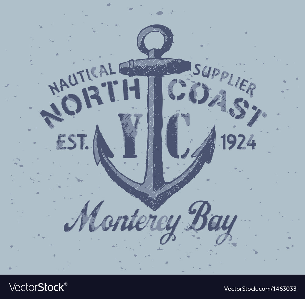 Nautical graphic vector