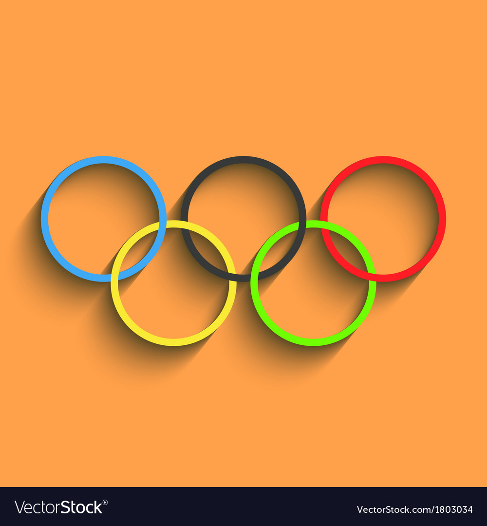 Olympics background eps10 vector