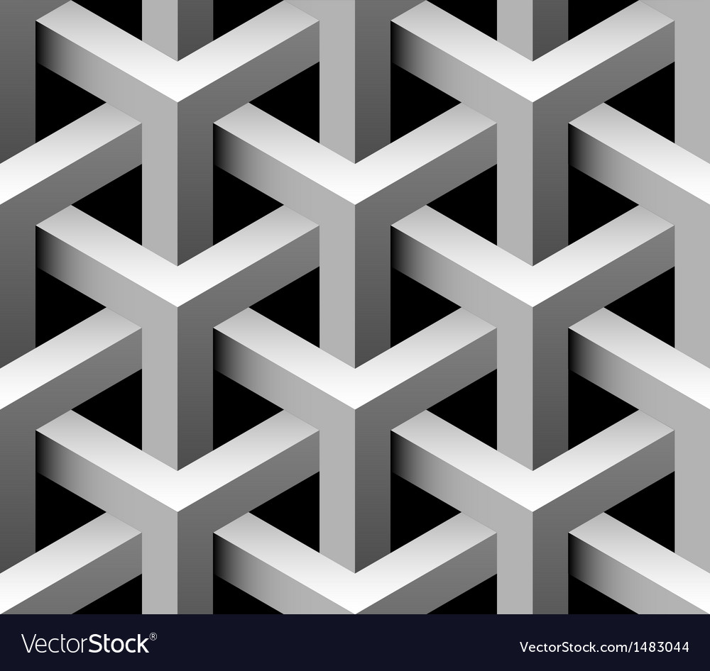 3d industrial seamless pattern vector
