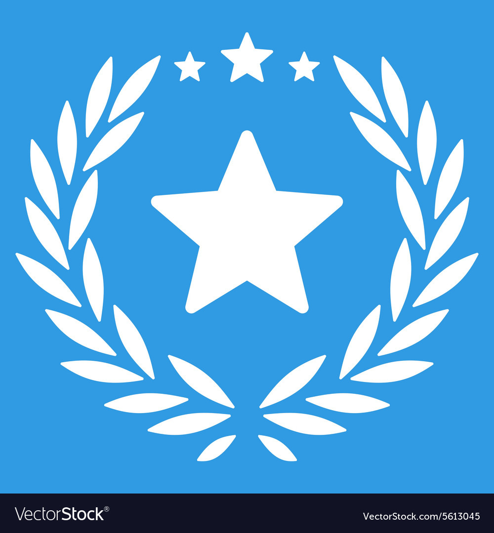 Proud icon from competition success bicolor icon vector