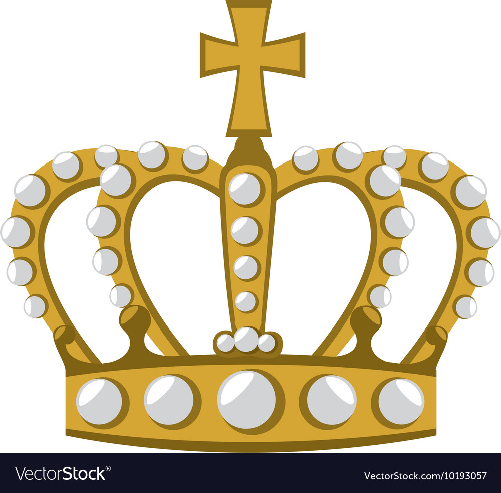 Royal crown london icon graphic vector