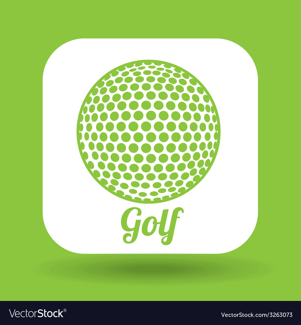 Ball sport design vector