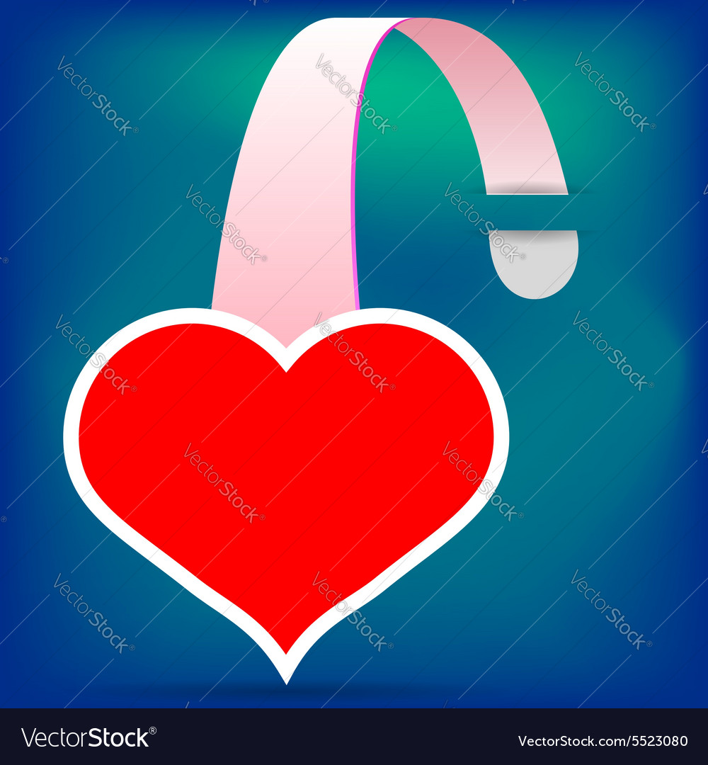 Heart wobbler vector