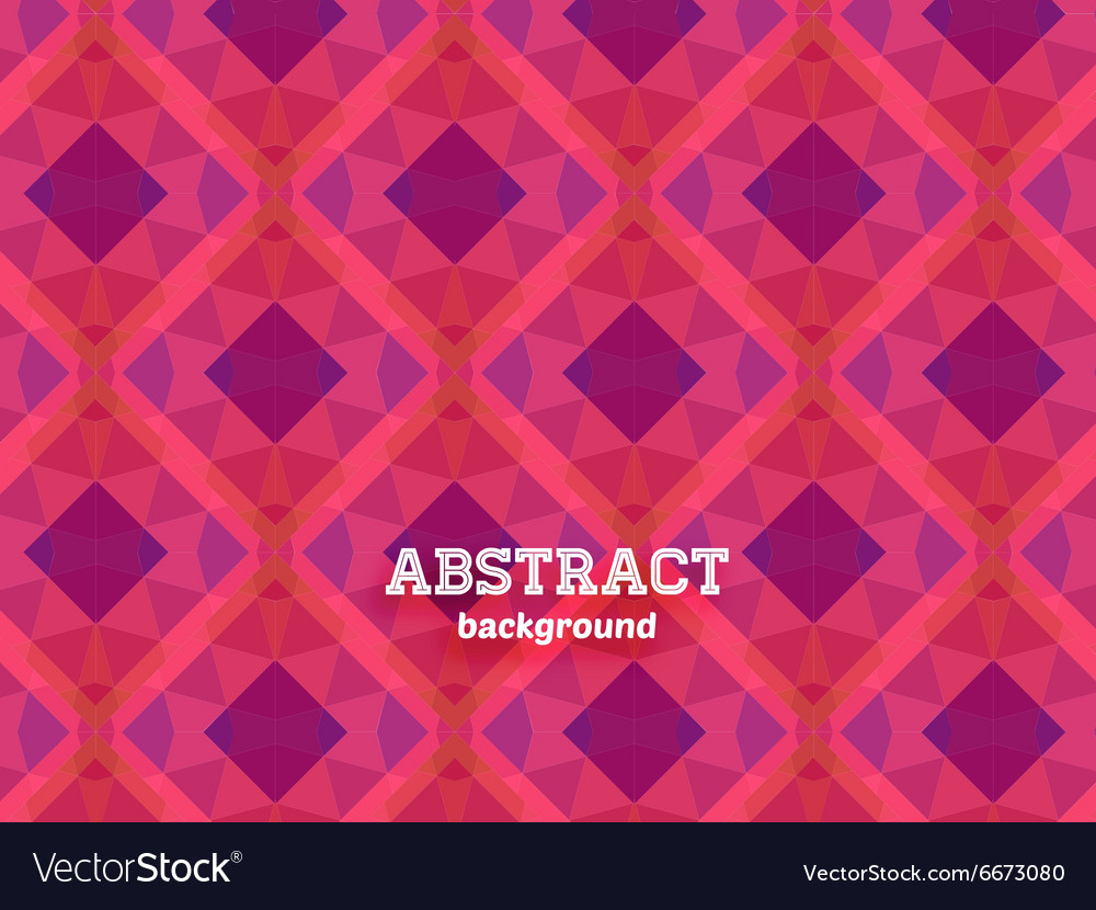 Pink abstract background vector