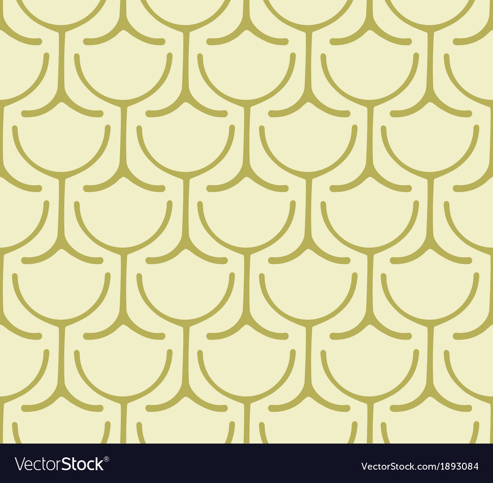 Seamless wine glass pattern vector