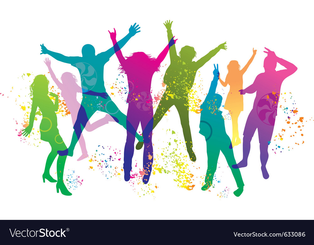 Party and dance vector