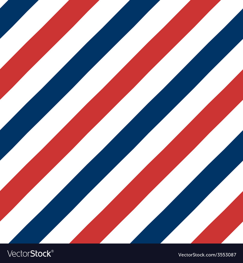 Barber pole seamless pattern vector
