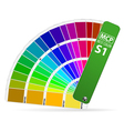 Color Guide vector image