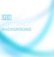 Modern blurred swoosh wave background vector image vector image