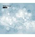 Blue Snowflake Design vector image