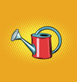 garden watering can for plants vector image