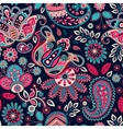 Paisley seamless pattern Floral background in vector image