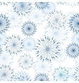 seamless pattern with stylized flowers vector image