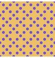 Flowers geometric seamless pattern 2807 vector image