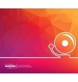 Concept banner background vector image