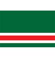 Flag of chechen republic of ichkeria vector image