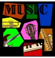 music background of the segments vector image