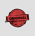 Original stamp badges vector image