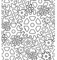 seamless black and white texture with the vector image