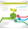 modern graph design or infographic design vector image