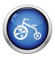 Baby trike icon vector image