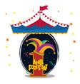 april fools day card design vector image