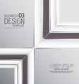 abstract business design 3 vector image vector image