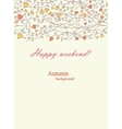 Background for valentine day card vector image vector image