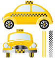 taxis vector image vector image