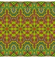 Abstract geometric ornamental pattern vector image