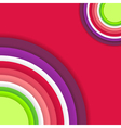 Bright Abstract Colour Background vector image