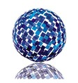 Technology sphere vector image vector image