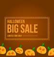 collection halloween sale background style vector image
