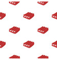 pork ribs icon in cartoon style isolated on white vector image