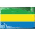 Gabon national flag vector image