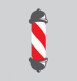 Barber pole vector image