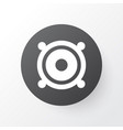 speaker icon symbol premium quality isolated vector image