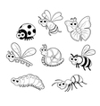 Bugs 1 snail vector image