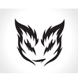 Beautiful cat vector image