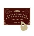 Ouija board vector image