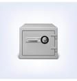 Safe with lock vector image vector image