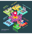 SEO Concept 3D Isometric vector image