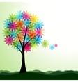 Artistic spring or summer landscape vector image vector image