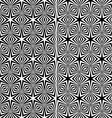 Seamless Starry Patterns vector image