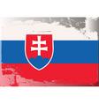slovakia national flag vector image