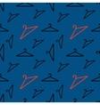 hanger pattern on dark background vector image